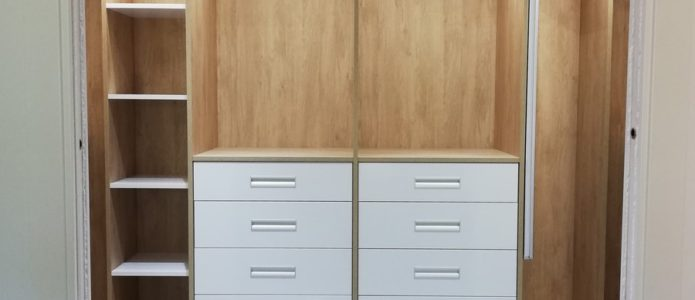 mobiliario vestidor a medida
